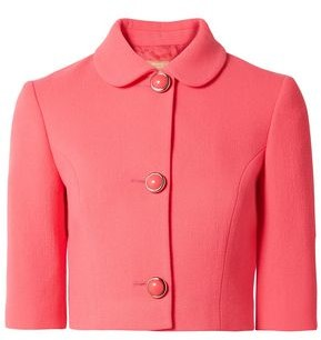 Michael Kors Stretch-wool Boucle Jacket