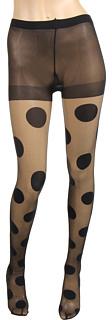 Kate Spade Gigantic Swiss Dot Tights Hose