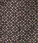 Michael Kors Eyelet Silk-Jacquard Bustier Jumpsuit