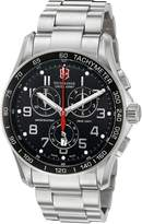 Victorinox Men's 241301 Classic Collection Chronograph Dial Watch