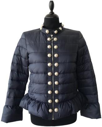 Twin-Set Twin Set Blue Coat for Women