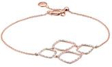 Monica Vinader Riva Diamond Cluster Bracelet