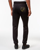 Versace Men's Logo Pocket Jogger Sweatpants