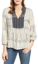 Velvet by Graham & Spencer Women's Corsica Print Blouse