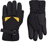 Fendi Men's Buggies Ski Gloves-BLACK