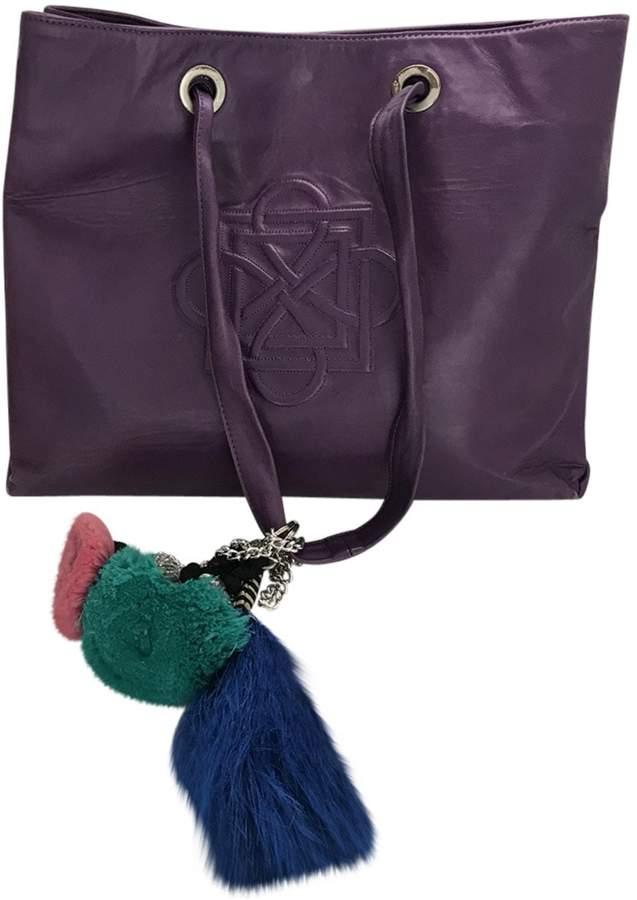 Galliano Leather shoulder bag