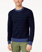 Tommy Hilfiger Men's Striped Crew-Neck Sweater