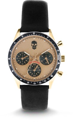 Zadig & Voltaire Unisex Analogue Classic Quartz Watch with Leather Strap ZVM119