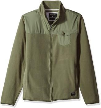 Quiksilver Men's Timberlost Polar Fleece Half Zip Sweater