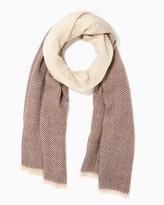 Charming charlie Herringbone Fadeout Blanket Scarf