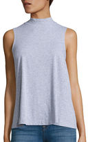 Splendid Sleeveless Mockneck Top