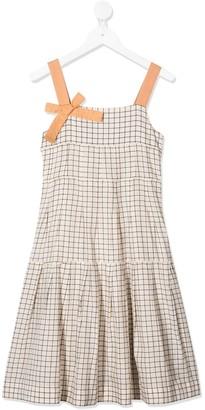 Caramel Angel shift dress