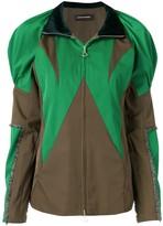 Kiko Kostadinov colour-block zipped jacket