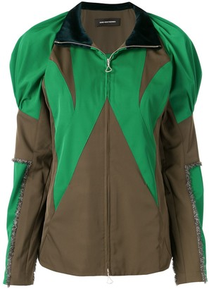 KIKO KOSTADINOV Colour-Block Zipped Jacket