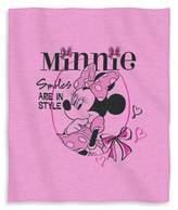 Disney Minnie Smiles in Style Sweatshirt Throw