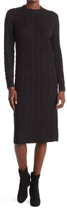 Stitchdrop Cable Knit Sweater Dress