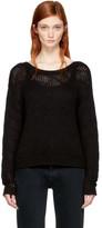 Won Hundred Black Cropped Zarina Sweater