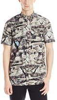Ecko Unlimited Men's Topographical Woven Shirt