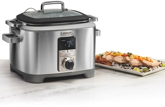 Wolf Gourmet 7 Quart Multi-Function Cooker with Black Knobs
