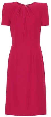 Alexander McQueen Crepe dress