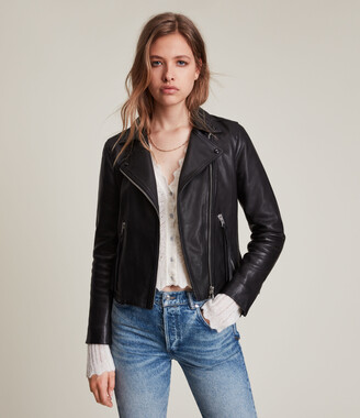 AllSaints Dalby Leather Biker Jacket