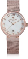 Lancaster Chimaera Rose Gold Stainless Steel Watch