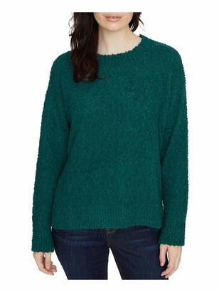 Sanctuary Womens Green Long Sleeve Jewel Neck T-Shirt Sweater UK Size:20