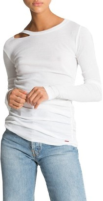 n:philanthropy Gavin Cutout Long-Sleeve T-Shirt