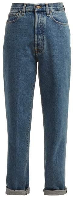 Golden Goose Shannen High Rise Straight Leg Jeans - Womens - Denim