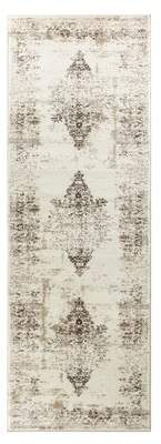 "Bungalow Rose Haubert Oriental Cream Area Rug Rug Size: Rectangle 8'7"" x 12'6"""