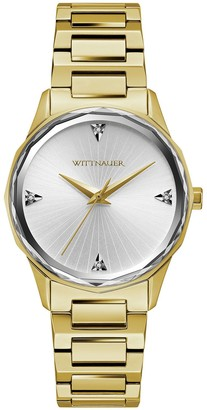 Wittnauer Women's Goldtone Diamond Accent DialWatch