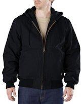 Dickies Men's Big-Tall Sanded Duck Hooded Jacket