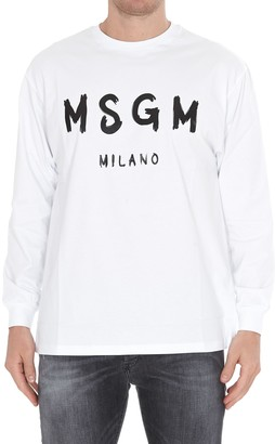 MSGM Brushed Logo Sweatshirt