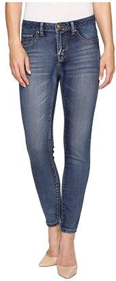 Tribal Five-Pocket Knit Denim 28 Ankle Jegging in Medium Wash (Medium Wash) Women's Jeans