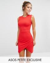 Asos Asymmetric Sleeveless Body-Conscious Dress
