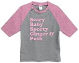 Urban Smalls Heather Gray 'Scary Baby Sporty' Raglan Tee - Toddler & Girls