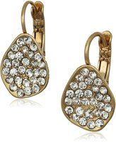 The Sak Pave Scoop Drop Earrings