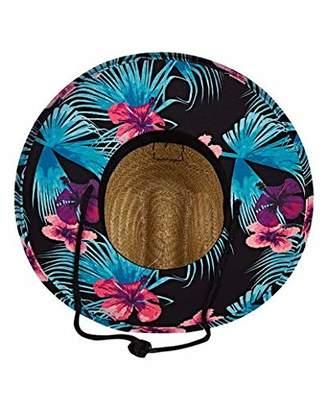 Billabong Men's Tides Print Lifeguard Straw Hat