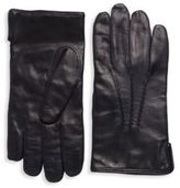 Saks Fifth Avenue Slip-On Leather Gloves