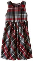 Dolce & Gabbana Back to School Quadricheck Tartan Dress (Big Kids)