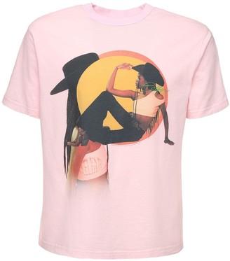 Telfar Halter Cotton Jersey T-Shirt