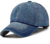 Topda123 Unisex Washed Deni Baseball Caps Hats with Adjustable Size