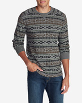 Eddie Bauer Men's Eddie's Favorite Thermal Crew - Pattern