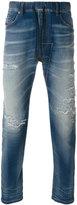 Diesel distressed tapered jeans - men - Cotton/Polyester/Spandex/Elastane - 30