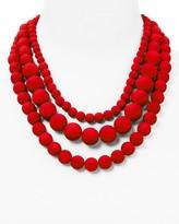 Aqua Bold Beaded Necklace, 17 - 100% Exclusive