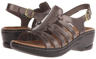 Clarks Lexi Marigold Q (Black Leather) Women's Sandals