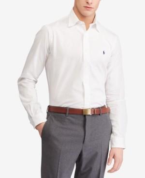 Polo Ralph Lauren Men's Slim Fit Stretch Poplin Shirt