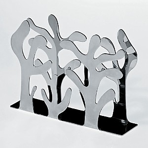 Alessi Mediterraneo Napkin Holder, Stainless Steel