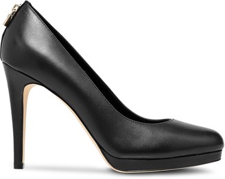 MICHAEL Michael Kors Antoinette Leather Platform Pumps