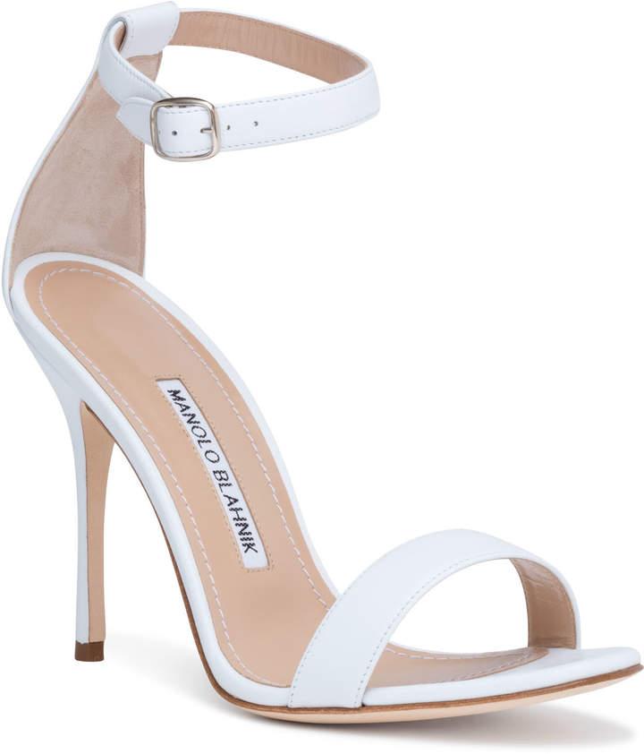 294740339e956 Manolo Blahnik Stiletto Heel Women's Sandals - ShopStyle